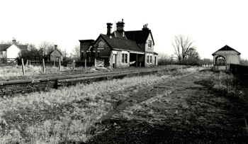 Blunham Station in 1976 [Z50/19/41]